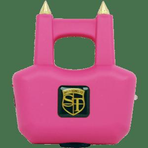 Pink Spike Stun Gun from view