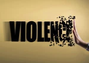 Violence image for header
